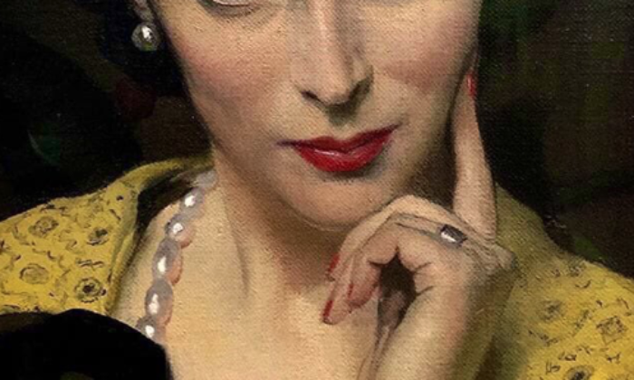 Pauline on Yellow Dress, de Herbert James Gunn
