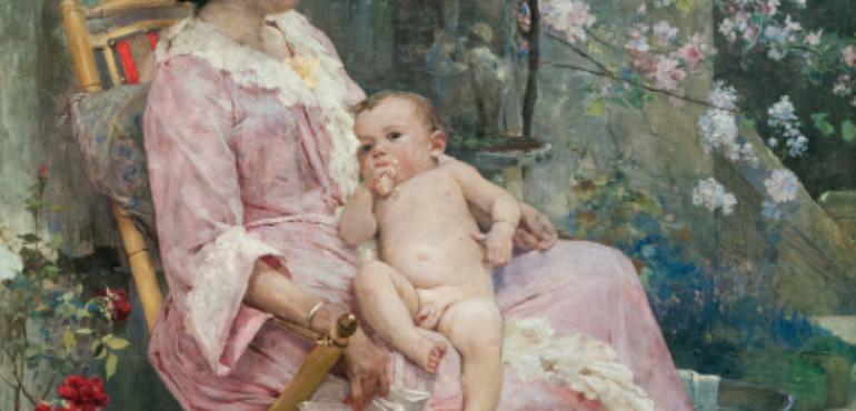 La joven madre, de Arturo Michelena