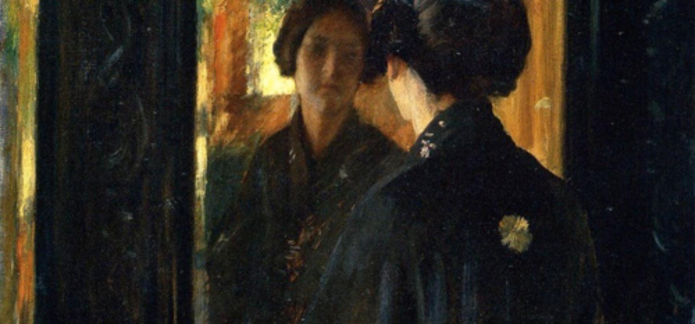 The Mirror, de William Merritt Chase