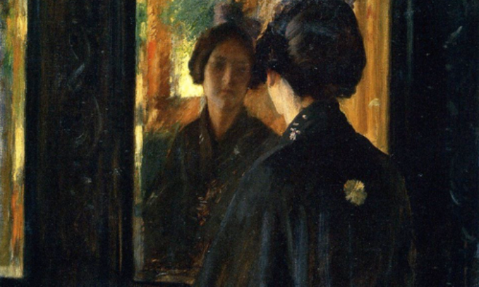 The Mirror, de William Merritt Chase