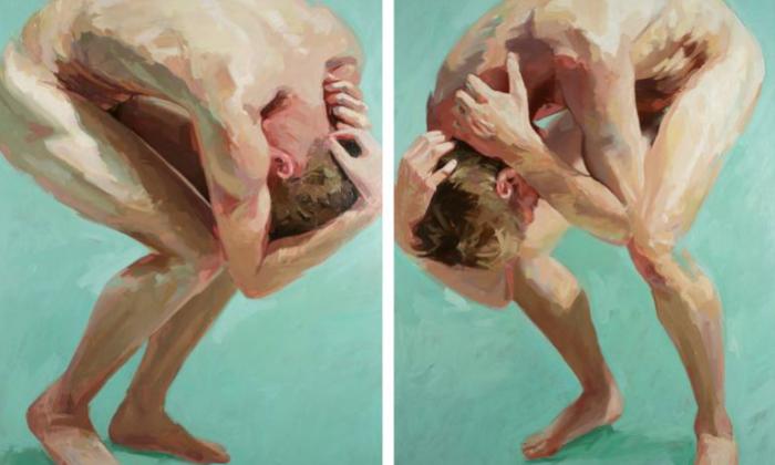 Two Men Meet (diptych), de David Edwards
