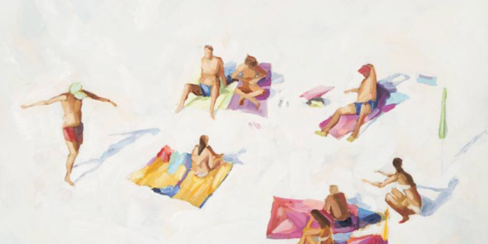 On White Sand2, de Teodora Djordjevic