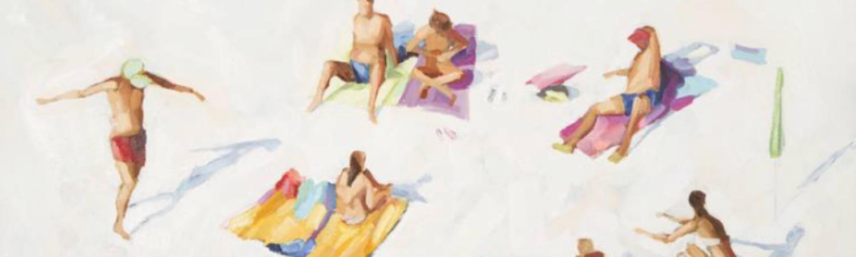 On White Sand2, de Teodora Djordjevic