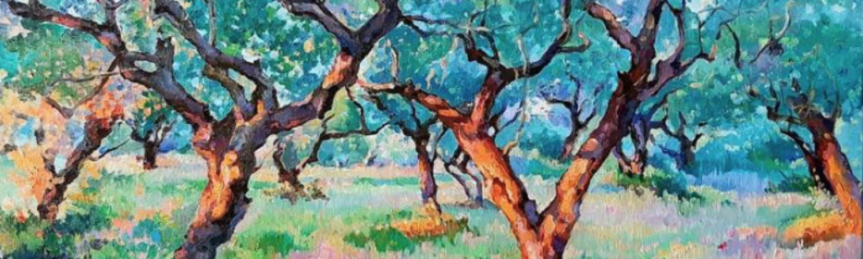 Magic garden.Olives, de Ksenia Yarovaya