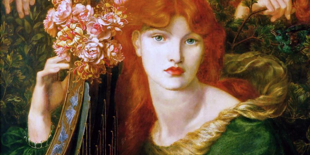 La Ghirlandata, de Dante Gabriel Rossetti