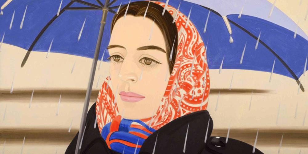 Blue Umbrella, de Alex Katz