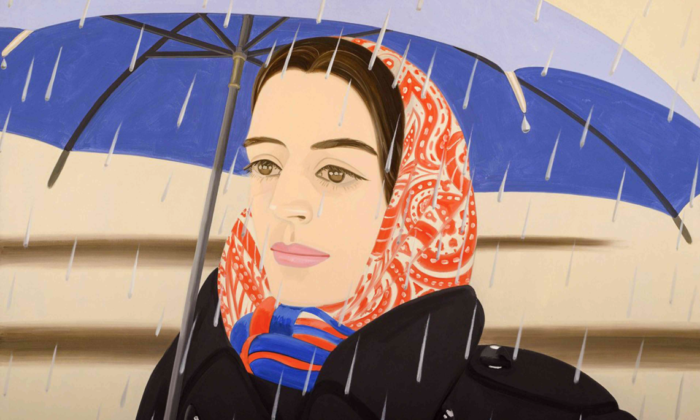 Blue Umbrella, de Alex Katz