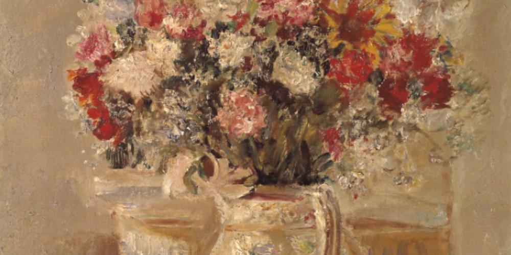 Flowers in a Jug, de Dame Ethel Walker