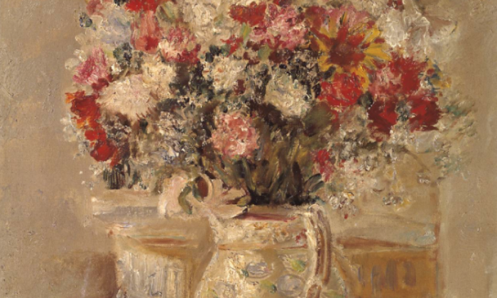 Flowers in a Jug, de Dame Ethel Walker