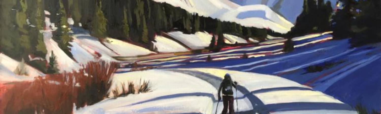 Hiking In, de Leslie Jorgensen