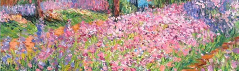 El jardín del artista en Giverny, de Claude Monet
