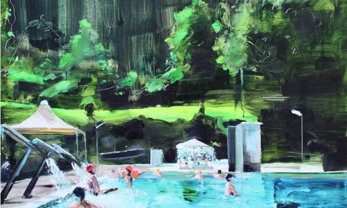 Woodland Painting, de Sanja Milenkovic