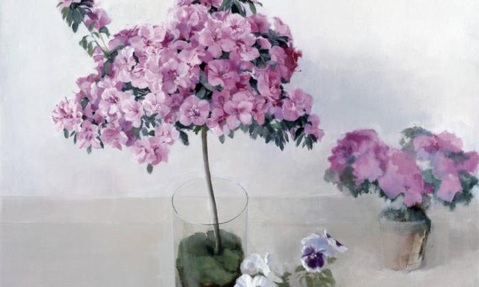 Azaleas, de María Moreno