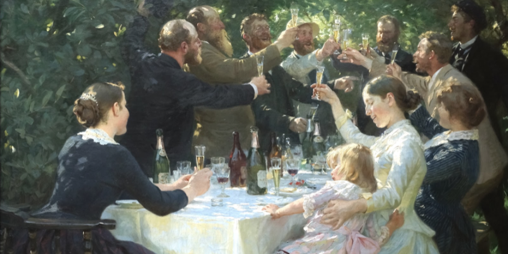 Hip, Hip, Hurrah!, de Peder Severin Kroyer2