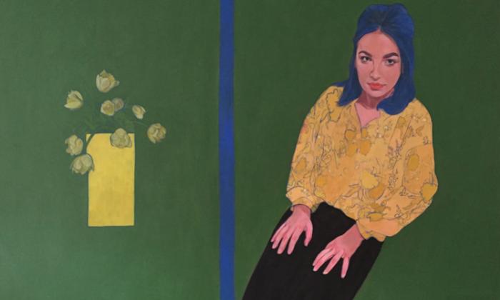 Girl with Yellow Flowers, de Grace Maran