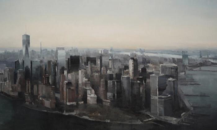 Manhattan from Above, de Kim Cogan