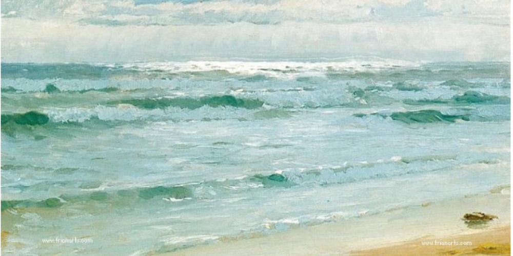 Seascape, Skagen, de Peder Severin Kroyer